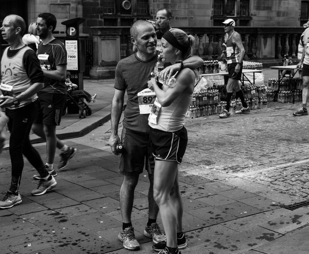 Fin de marathon