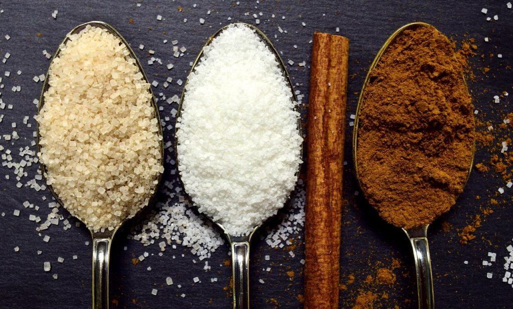 Différents sucres