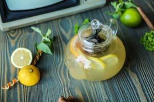 Eau gingembre citron
