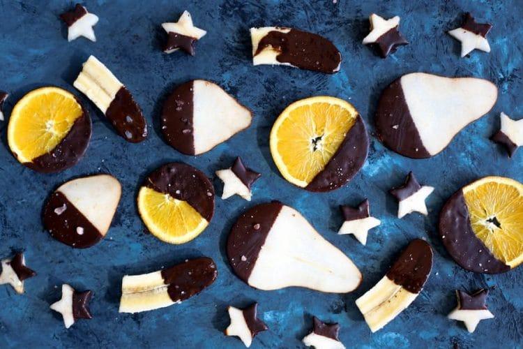 fruits au chocolat