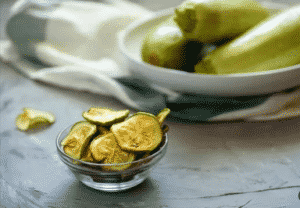 Chips de courgette