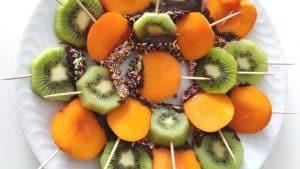 Sucette de fruit, source photo : les recettes d'émilie