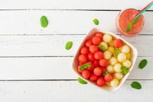 Gaspacho melon et pastèque : apéritifs healthy d'été