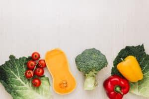 Courges et légumes