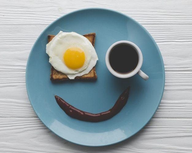 Assiette sourire